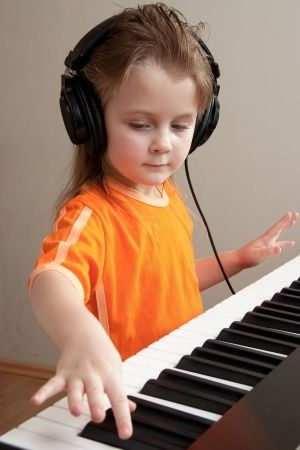 Digital piano for a child