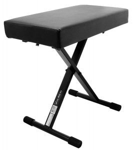 On Stage KT7800 Plus Wide, Extra Padded Keyboard Bench