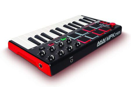 Akai Pro MPK Mini mkII - amazing mini controller for the money