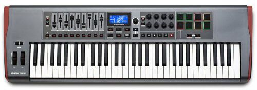 Novation Impulse 61 Midi Keyboard Controller review