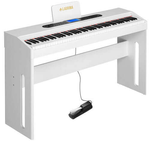 Lagrima 88-Key Electric Piano Keyboard