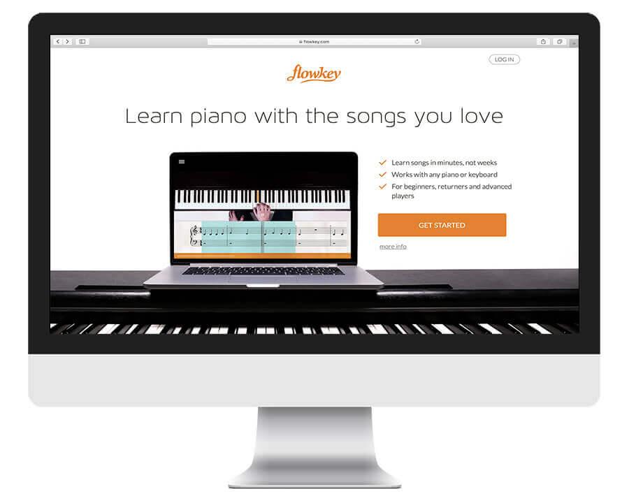 Flowkey piano learning app