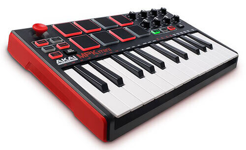 Akai Professional MPK Mini MKII Compact Keyboard and Pad Controller