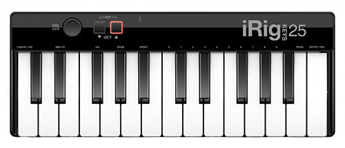 IK Multimedia iRig Keys 25 Mini-Key USB MIDI Controller