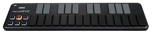 Korg nanoKEY2 25-Key USB-MIDI Keyboard