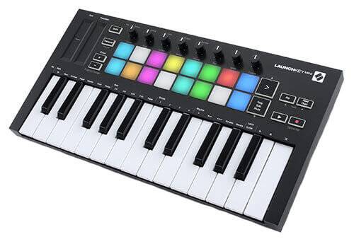 Novation Launchkey Mini MK3 25 Key MIDI Keyboard Controller